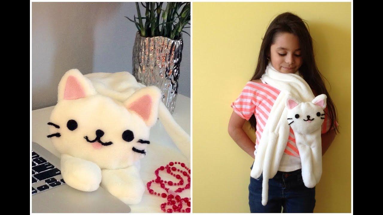 bufanda de gatito FACIL - YouTube