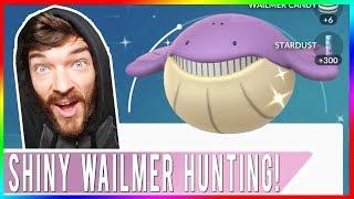 MASSIVE YOUTUBE SERVER OUTAGE TODAY! SHINY WAILMER HUNTING! Pokemon GO Earth Day Rewards!
