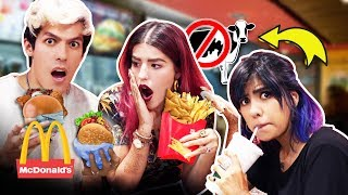 HERE THERE ARE NO MEAT HAMBURGERS MCDONALDS | LOS POLINESIOS