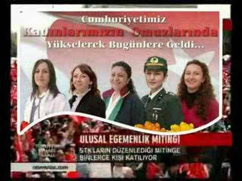 Turks Protest Islamist AKP in Ankara - 12 Nisan Tandogan