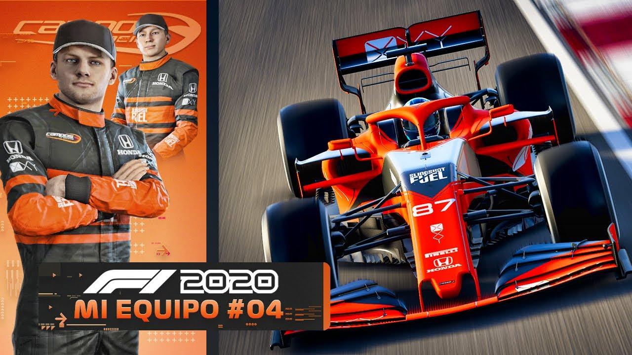 """F1 2020 MODO """"MI EQUIPO"""" - NUEVAS MEJORAS EN LA SEDE Y UNA GRAN OPORTUNIDAD (Campos Racing #4)"""