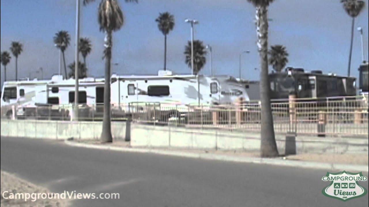 Campgroundviews Com Sunset Vista Rv Park Huntington Beach California Ca Youtube