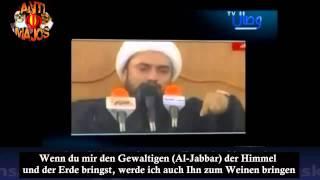 Shia Priester bringt sogar Allah zum Weinen