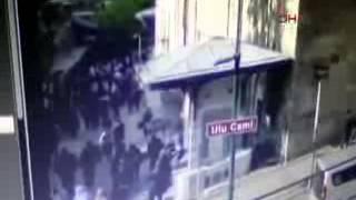 Bursa'da canlı bomba saldırısı kamerada