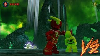 The Flash VS Reverse Flash Lego Batman 3