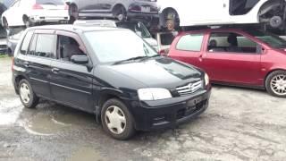 Видео-тест автомобиля Mazda Demio (DW3W-734750 2002г)