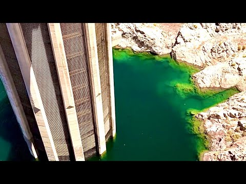 Hoover Dam SUPER LOW WATER LEVEL