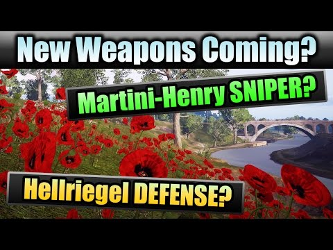 Battlefield 1 | NEW WEAPONS COMING? | Martini-Henry SNIPER! Hellriegel DEFENSE? (BF1 Tips & Info)
