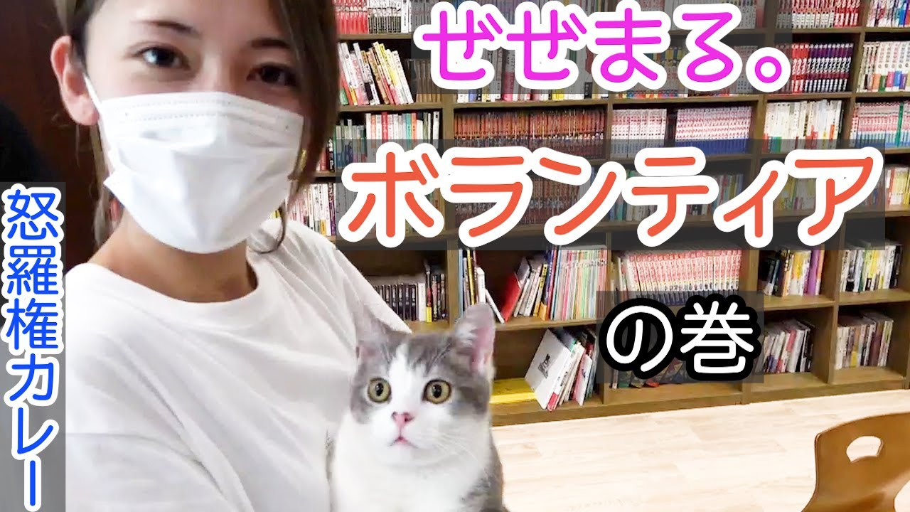 【新宿租界】人生初の炊き出しに参加!保護猫カフェにも行ってきました!