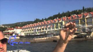 Рыбалка на Черном море в крыму ловля барабольки(Данный ролик был снят мной в 2010 году в Симеизе! Ловля Барабольки в Крыму в частности в Симеизе. Бараболька,..., 2015-03-13T15:05:13.000Z)