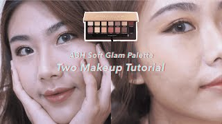 ABH Soft Glam 眼影盤 ???? 2種妝容分享 u0026 試色心得|Soft Glam Palette Swatches u0026 Review|林㚬Sylvia