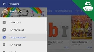 Google Play Store 5.0 Material Design Update - Quick Look!