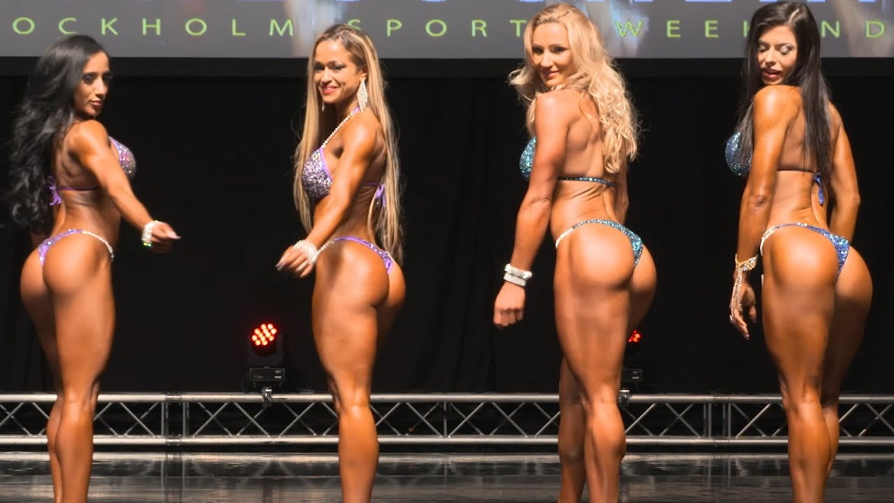Bikini fitness girls model contest