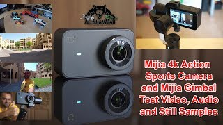 Testing Xiaomi Mijia 4K Action Camera Mijia Stabilized Gimbal