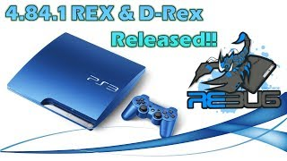 PS3 news!  Rebug 4.84 Rex and D-Rex now released with cobra 8.01!