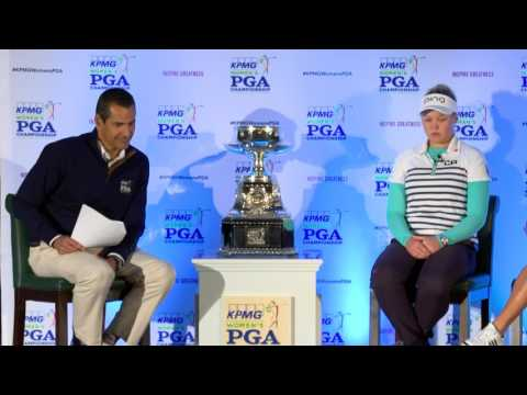 Fireside chat with Brooke Henderson and Stacy Lewis