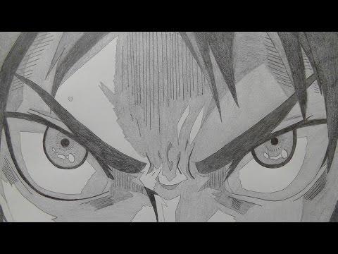 【パラパラ漫画】シャーペンで進撃の巨人OP描いてみた (完全版・423枚)drew attack on titan OP in Mechanical pencil