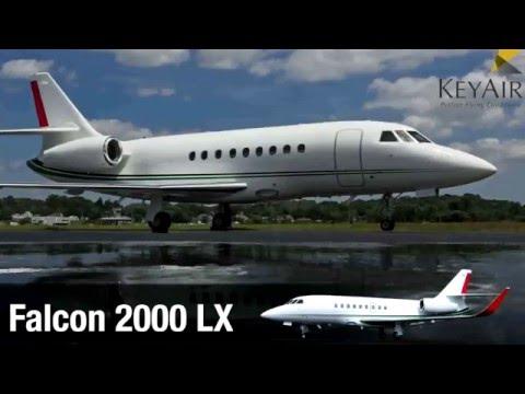 Key Air Falcon 2000LX Private Jet Charter