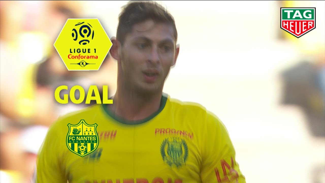 Goal Emiliano Sala 90 2 Fc Nantes As Monaco 1 3 Fcn Asm