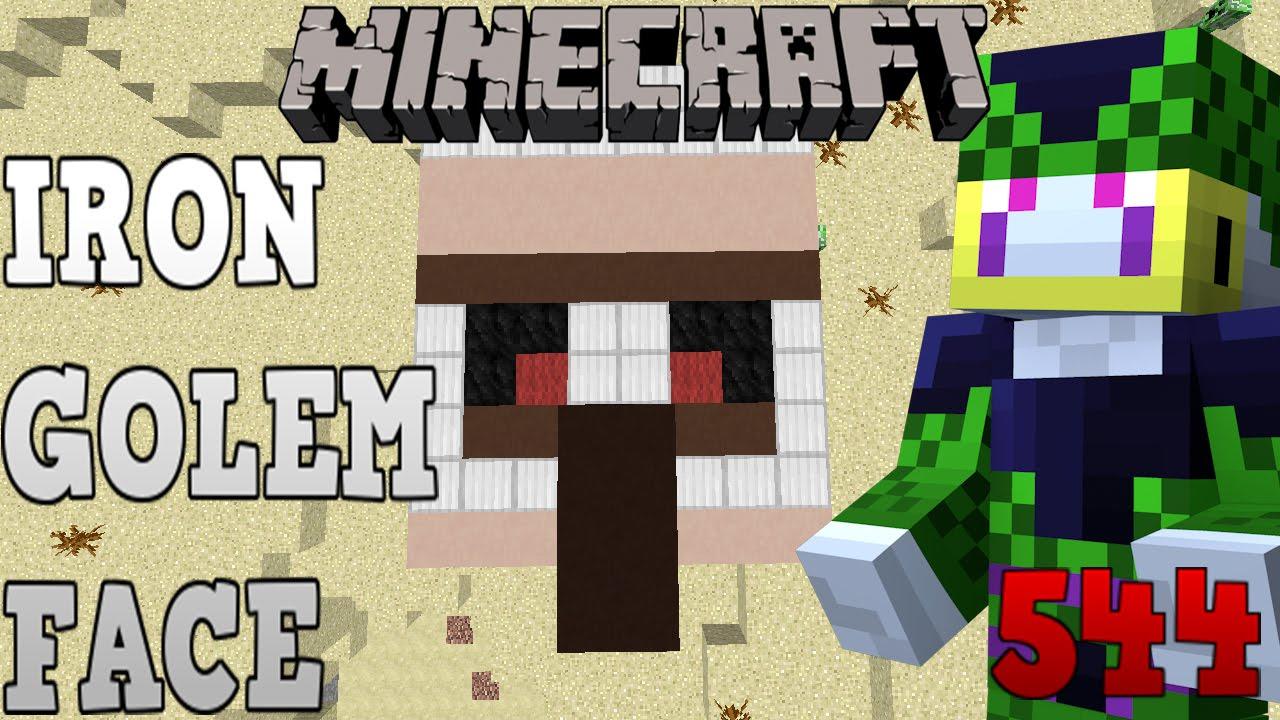 Minecraft ITA ep 544 - Iron Golem Face - YouTube