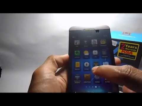 Unboxing Dan Review Singkat Blackberry Z10