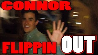 CONNOR FRANTA FLIPPING OUT OVER CRAZY MAGIC w/PointlessBlog Joey Graceffa DanIsNotOnFire AmazingPhil