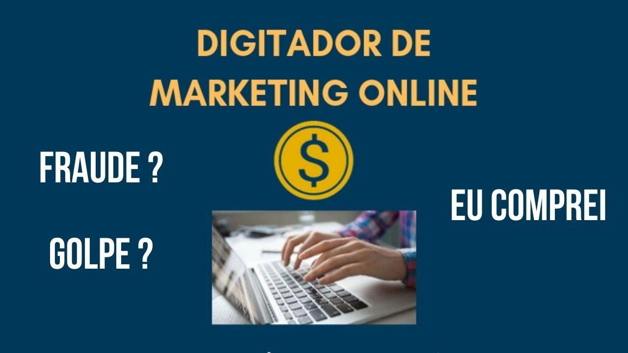 digitador de marketing online funciona mesmo