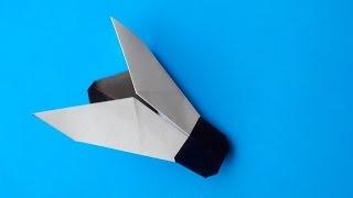 как сделать из бумаги муху