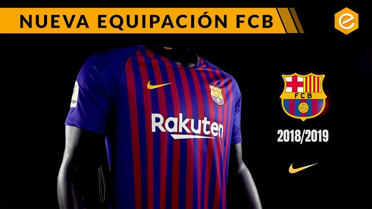 68c51eb9496 NUEVA CAMISETA FC BARCELONA - YouTube