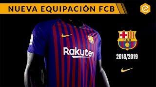 NUEVA CAMISETA FC BARCELONA