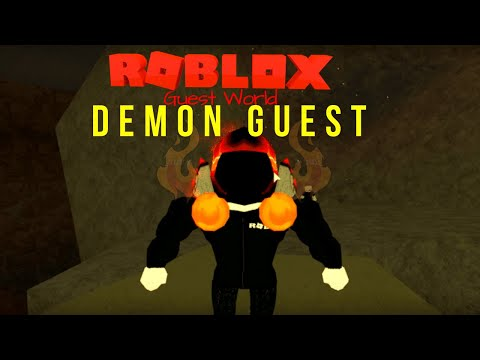 Demon Guest | Roblox Guest World