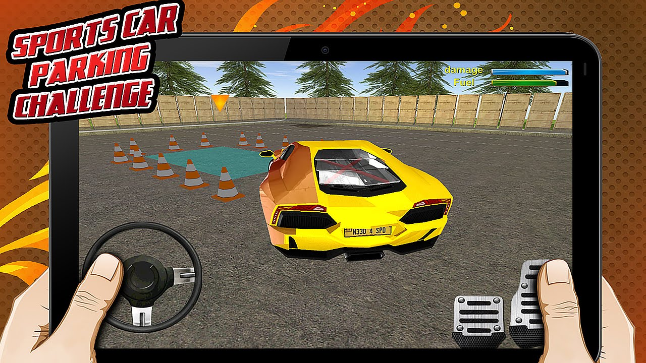 Exceptional Sport Car Parking Challenge 3D   Gameplay Android Awesome Design
