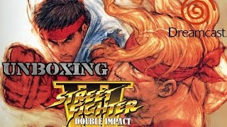 Unboxing Street Fighter III New Generation/2nd Impact Giant Attack Japan Dreamcast HD [1080P]