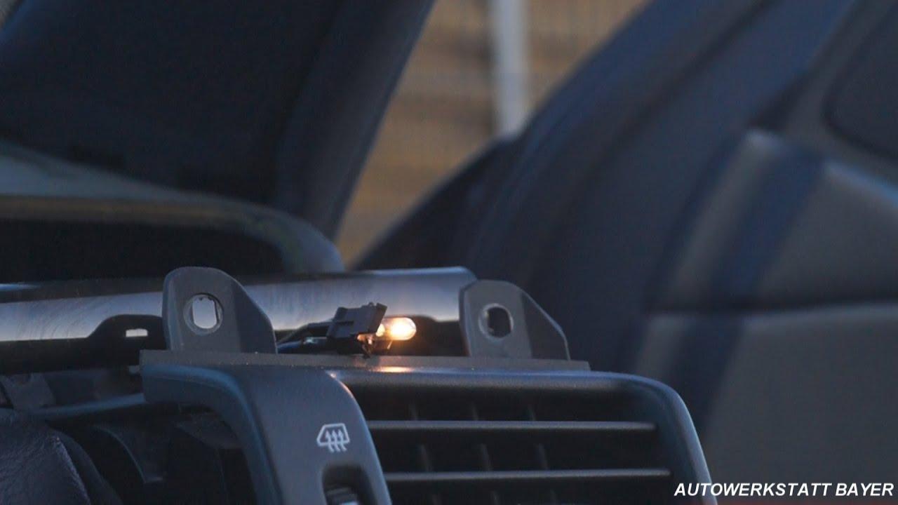Подсветка воздуховодов Тойота королла