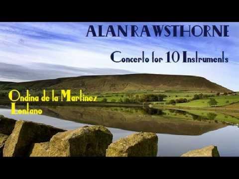 Alan Rawsthorne: Concerto for 10 Instruments [de la Martinez-Lontano]