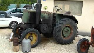Tracteur SF semi-diesel monocylindre 6 litre de cylindrée