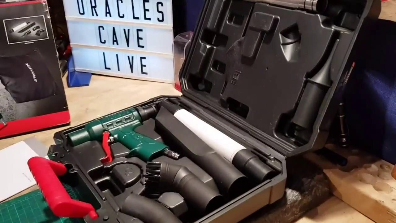 Parkside Air Blow Vacuum Gun Pdsb 10 A1 Lidl