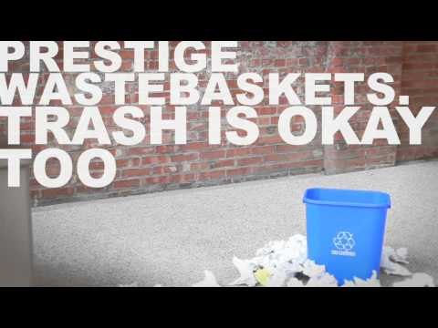 Prestige Office Accessories- Wastebaskets (Office Basketball)
