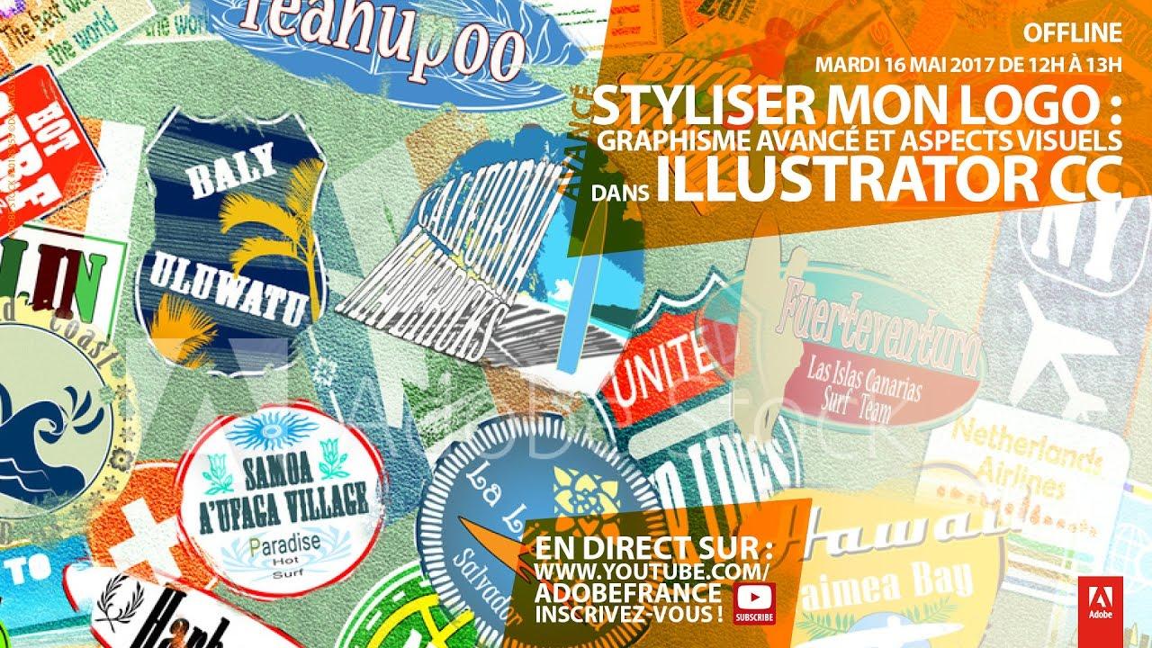 Tutoriel Illustrator CC avancé : Styliser un logo |Adobe France