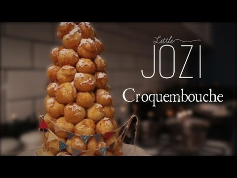 Croquembouche recipe + raspberry coulis (Christmas edition)