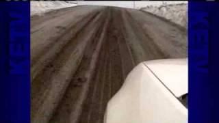 Driver: Muddy Rural Roads Slow Us Down