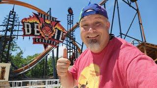 Jersey Devil Coaster    Jersey Devil POV    Six Flags Great Adventure