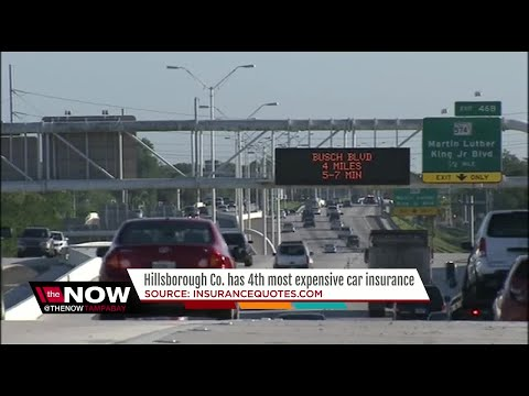 Hillsborough Co. has 4th most expensive car insurance