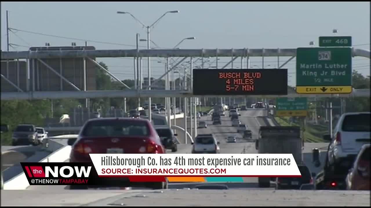Hillsborough Co. has 4th most expensive car insurance ...