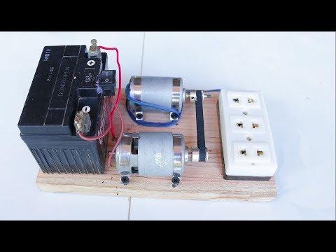 How to Make 220V Generator dynamo