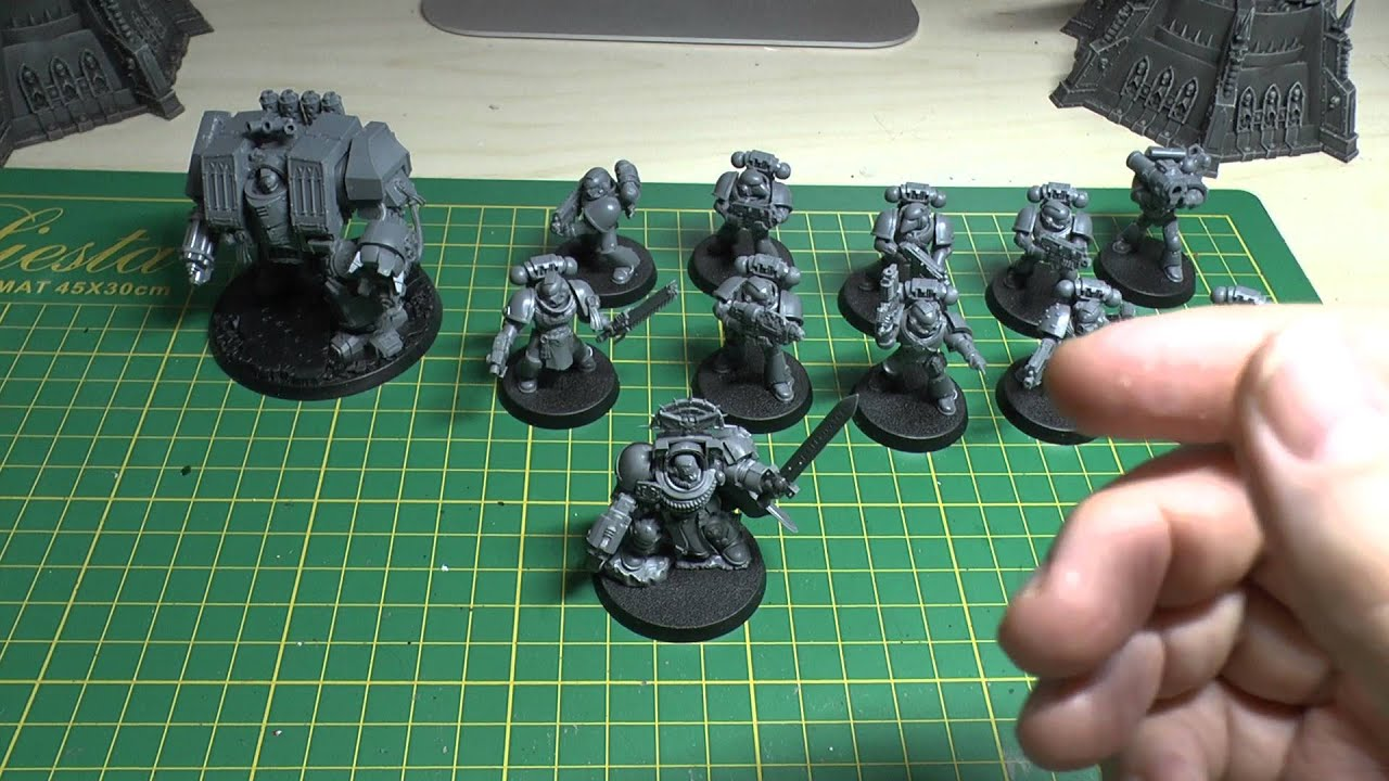 start collecting space wolves