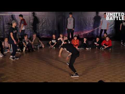 United Battle April 2018 - Hip-Hop Solo, Professionals