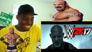 WWE 2K17 Goldberg Pre-order Trailer REACTION!!!