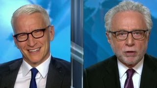Wolf to Anderson Cooper: Quit giggling