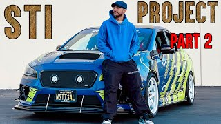 2015 Subaru STI MOD LIST PART 2